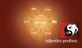 Copy of Adjective prefixes - making opposites