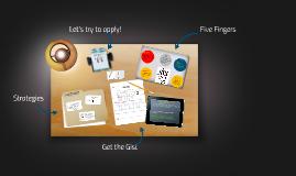 Copy of Strategies for summarizing