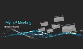 Copy of My IEP Meeting