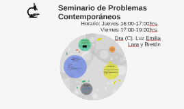 Seminario de Problemas Contemporáneos