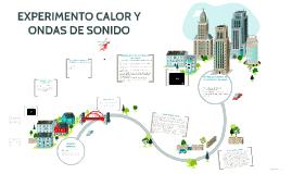 EXPERIMENTO CALOR Y ONDAS DE SONIDO