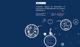 Copy of Copy of Evaluación técnica de desempeño en excavación con TBM, para un proyecto hidroeléctrico