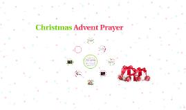 Christmas Advent Prayer