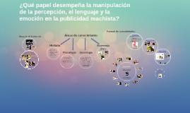 Copy of Machismo en la publicidad
