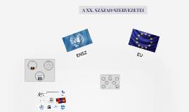 ENSZ és EU