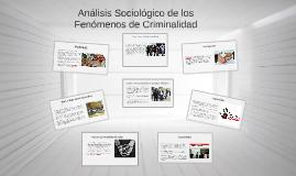 Copy of Analisis sociologico de los fenomenos de criminalidad