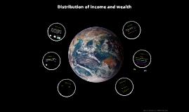 Wealth and income distribution