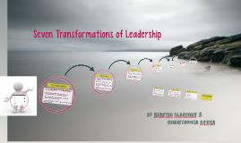 seven transformations of leadership