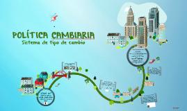 Copy of POLÍTICA CAMBIARIA