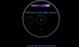 Copy of Solar System Walk
