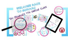 Copy of Copy of Welcome Back to School 7th Grade