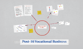 Post-16 Vocational Business