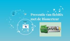 Preventie van flebitis met de Bionecteur