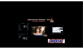 Werbeanalyse Snickers - Diva