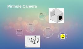 pinhole camera by Alishba,Nysha,Saara