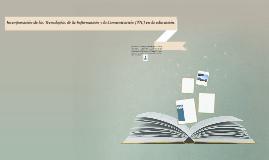 Incorporación de las Tecnologías de la Información y la Comu