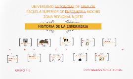 Copy of LINEA DEL TIEMPO DE ENFERMERIA
