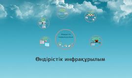 Copy of Өндірістік инфрақұрылымды ұйымдастыру