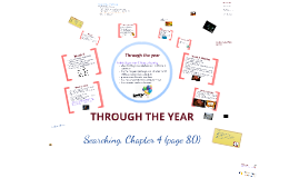Chapter 4: Through the year
