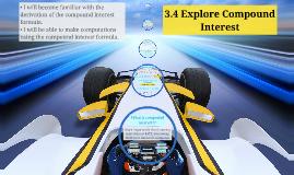 3.4 Explore Compound Interest