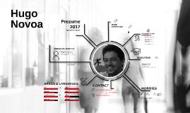 Prezume Hugo Novoa 2017
