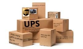 UPS Report