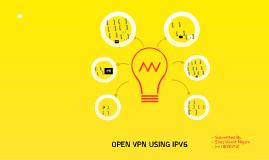 Open VPN Using IPV6