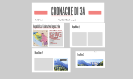 CRONACHE DI 3A