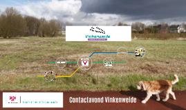 Contactavond Vinkenweide 8 juni 2016