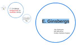 E. Ginsbergs- attīstibas teorija