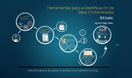 Copy of Herramientas para la Identificación de Sitios Contaminados - ECA Suelos