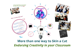 Induction - Creative Classrooms