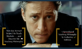 How Jon Stewart Helped Me Teach Rhetoric