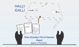 Copy of Zeka Oyunları Dersi Sunum Ödevi