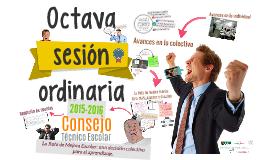 C.T.E. 15-16: Octava sesión ordinaria