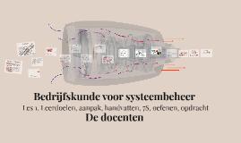 Bedrijfskunde voor systeembeheer