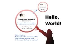 libalexandria RCOS Intro Slide