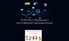 ESTRATEGIA PEDAGOGICA