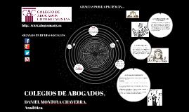COLEGIOS DE ABOGADOS,