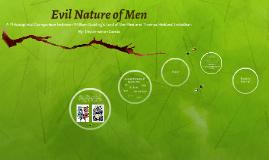 Evil Nature of Men