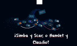 ¿Simba y Scar, o Claudio y Hamlet?