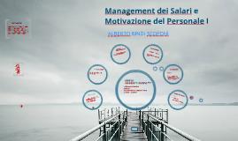 Management dei Salari e Motivazione del Personale I