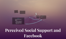 Perceived Social Support and Facebook
