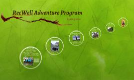 RecWell Adventure Program