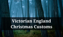 Victorian England Customs