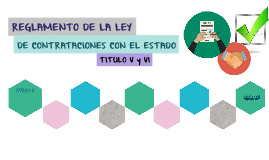 REGLAMENTO DE LA LEY DE CONTRATACIONES CON EL ESTADO