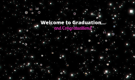 Graduation- December