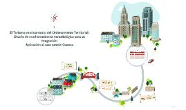 Copy of El turismo en el contexto del Ordenamiento Territorial: Dise