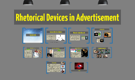 Copy of Rhetorical Devices in Advertisement