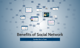 Benefits of Social Network
